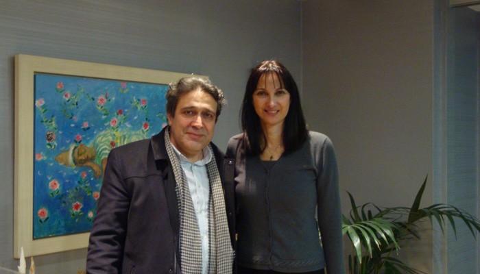 Συνάντηση του Νίκου Ηγουμενίδη με την Υπουργό Τουρισμού Έλενα Κουντουρά