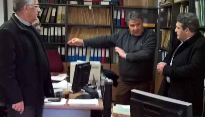 Στον ΟΑΕΔ Ηρακλείου ο Νίκος Ηγουμενίδης
