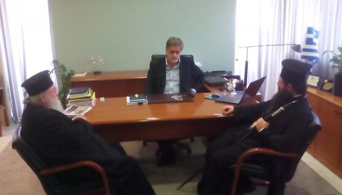 Ευχές για την ονομαστική του εορτή δέχτηκε ο Δήμαρχος Αγίου Νικόλαου