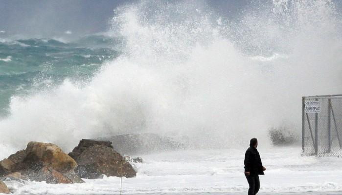 Ειδοποίηση του Λιμεναρχείου Ηρακλείου με αφορμή τους θυελλώδεις ανέμους