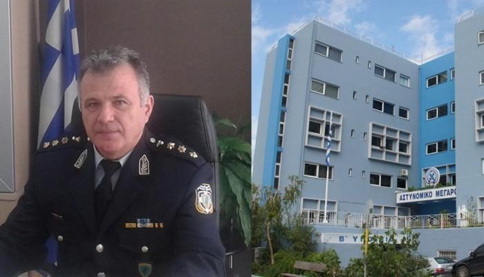 Παραμένει Αστυνομικός Διευθυντής Χανίων ο Γιώργος Λυμπινάκης