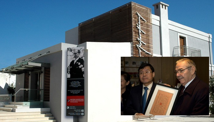 Παραιτήθηκε ο πρόεδρος του Μουσείου Νίκου Καζαντάκη