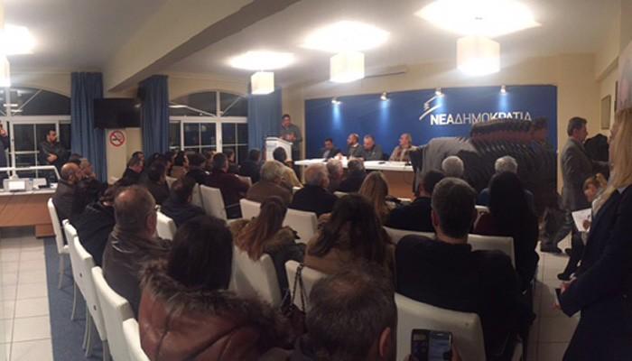 Παρουσία Λ. Αυγενάκη η συνεδρίαση της διευρυμένης ΝΟΔΕ Ηρακλείου