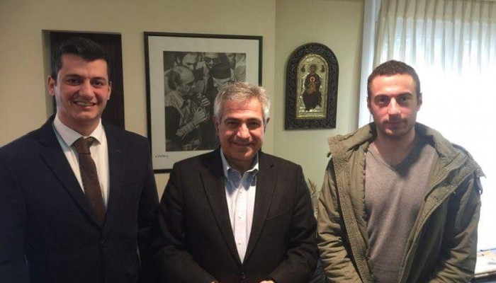 Με τον Μ. Καρχιμάκη συναντήθηκαν στελέχη της Έν. Αστυνομικών Υπαλ. Λασιθίου
