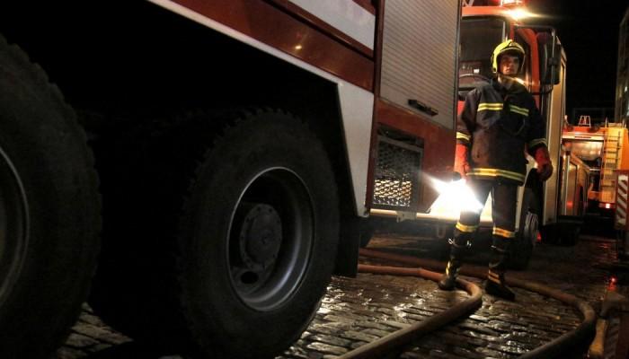 Πυρκαγιά σε αυτοκίνητο στα Χανιά
