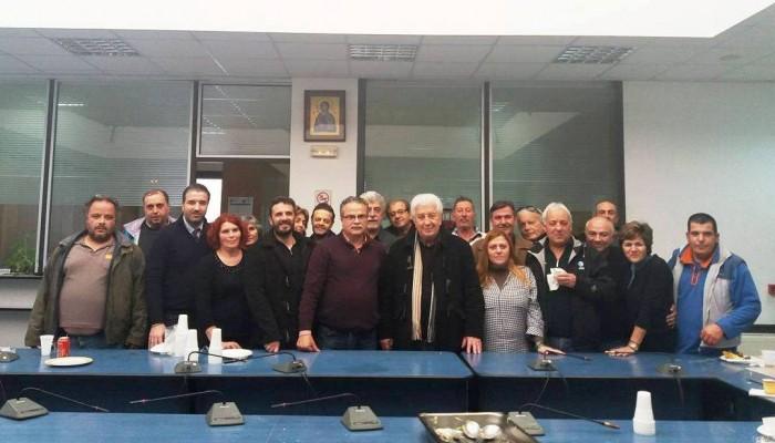 Κοπή πίτας στον Δήμο Πλατανιά με προσδιορισμό προτεραιοτήτων για το 2017
