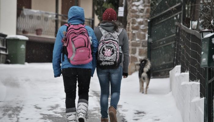Ποια σχολεία θα μείνουν κλειστά αύριο Τρίτη στην Κρήτη