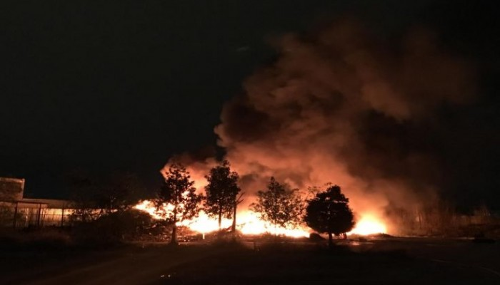 Πυρκαγιά στην Ιεράπετρα - Κάηκαν γεωργικές εκτάσεις