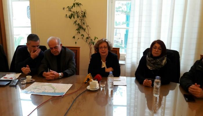 Ξεκίνησε η σύσκεψη με τη Γ.Γ του Υπουργείου Πολιτισμού για τα ενετικά τείχη