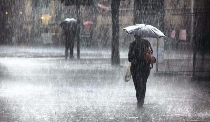 Έντονες βροχοπτώσεις στην Κρήτη απο το βράδυ του Σαββάτου