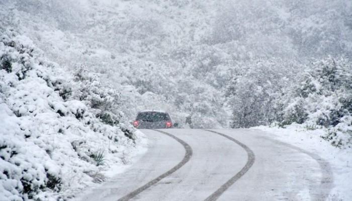 Παγετός στον δρόμο – Προσοχή στις μετακινήσεις στον Δ. Μαλεβιζίου