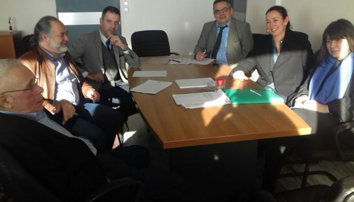 Συνάντηση στο Υπ. Παιδείας για το Ευρωπαικό Σχολείο Ηρακλείου