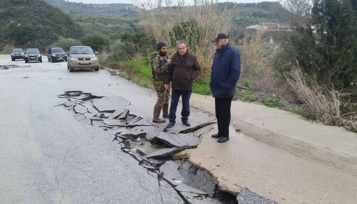 Κατακλυσμός στην δυτική Κρήτη - Βιβλικές καταστροφές (φωτο - βίντεο)