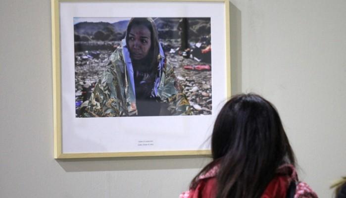 Ανοιχτή στους μαθητές η έκθεση «War in peace» του Άρη Μεσσήνη