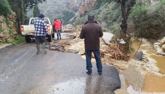 Αιτήσεις για τις ζημιές απο τις πλημμύρες στον Δήμο Πλατανιά