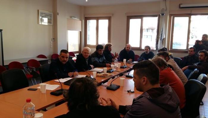 Συνάντηση Θραψανιώτη με τους Αγροτικούς Συλλόγους στο Οροπέδιο Λασιθίου