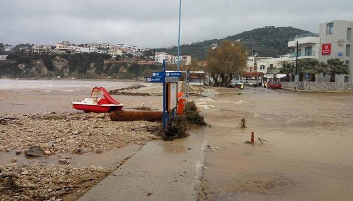 Δ. Αποκορώνου: Πάνω απο 3 εκατ. ευρώ το κόστος των ζημιών απο τις πλημμύρες