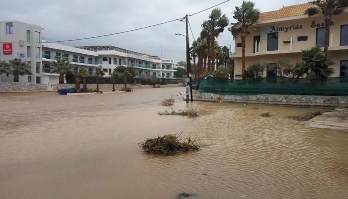 Αίτημα να κηρυχθούν πλημμυρόπληκτες περιοχές του δήμου Αποκόρωνα