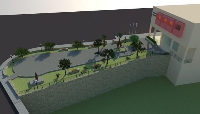 Αρχίζουν οι διαδικασίες για διαμόρφωση της πλατείας του δημαρχείου Κισσάμου