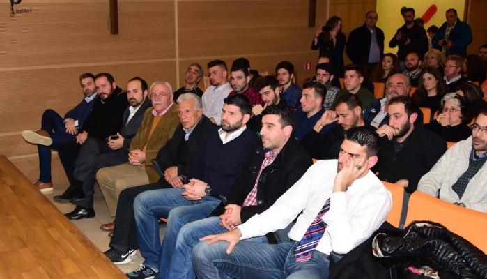 Παρών ο Δήμαρχος Θοδωρής Σταθάκης σε αθλητικές εκδηλώσεις