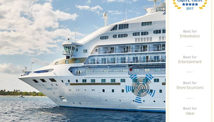 Πέντε κορυφαία βραβεία για τη Celestyal Cruises