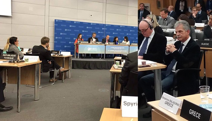 Σε συνέλευση ΟΟΣΑ και ΝΑΤΟ στο Παρίσι ο Σπύρος Δανέλλης