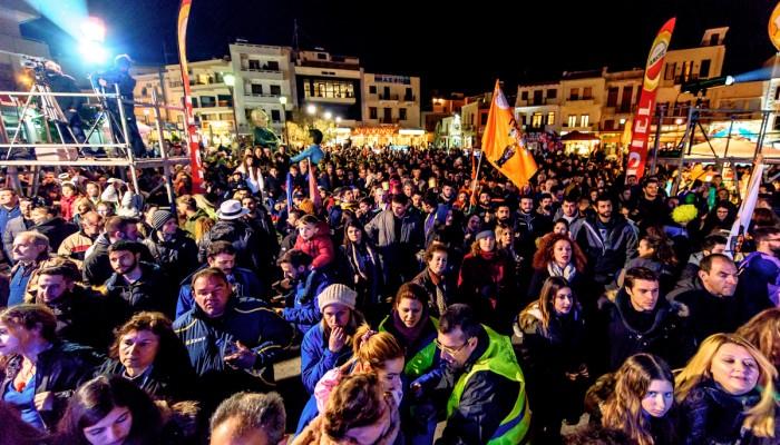 Ρεθεμνιώτικο καρναβάλι 2017: Η τελετή έναρξης