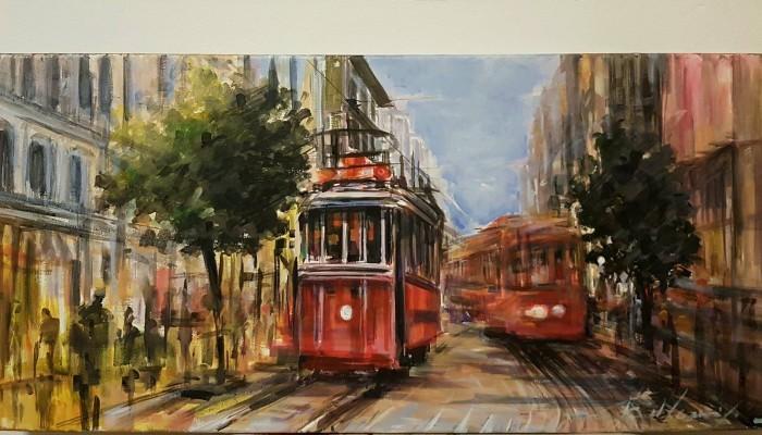 Aύριο τα εγκαίνια της έκθεσης ζωγραφικής «Ταξιδεύοντας  Εις Την Πόλιν»