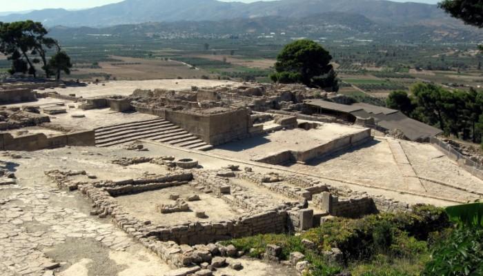 Eκδρομή στους αρχαιολογικούς χώρους της Μεσαράς