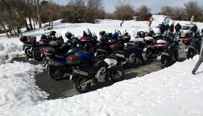 Κρήτη: Η εκδρομή στα Ανώγεια επεφύλασσε στους Vstrom Greek Riders έκπληξη!