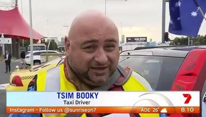 Έλληνας ταξιτζής στην Αυστραλία τρολάρει ρεπόρτερ ότι λέγεται