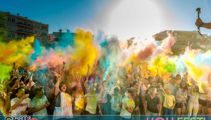 Για δεύτερη χρονιά τα Χανιά υποδέχονται τη γιορτή των χρωμάτων-Συμμετοχές