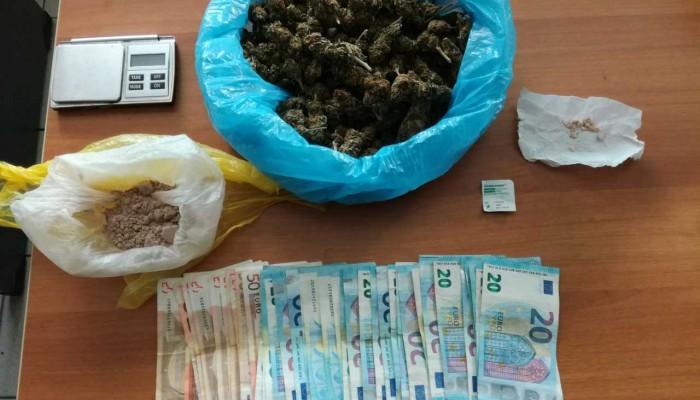 Ηρωίνη και κάνναβη εντοπίστηκαν στο σπίτι ενός 60χρονου στο Ηράκλειο