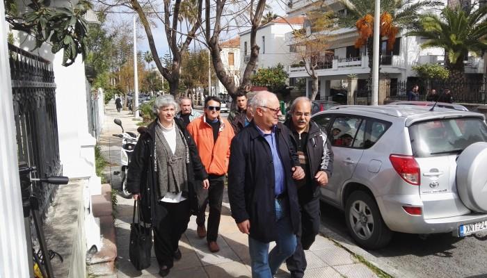 Aνέβηκαν οι τόνοι στα γραφεία του ΣΥΡΙΖΑ στα Χανιά με μέλη της Πρωτοβουλίας