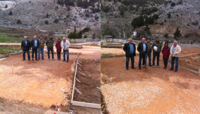 Στο έργο ανάπλασης της Ίμπρου βρέθηκε κλιμάκιο του δήμου Σφακίων