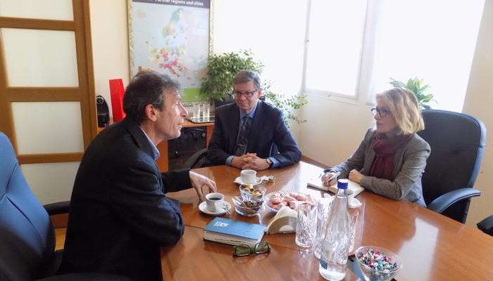 Επίσκεψη Πρέσβη του Καναδά στο Επιμελητήριο Χανίων