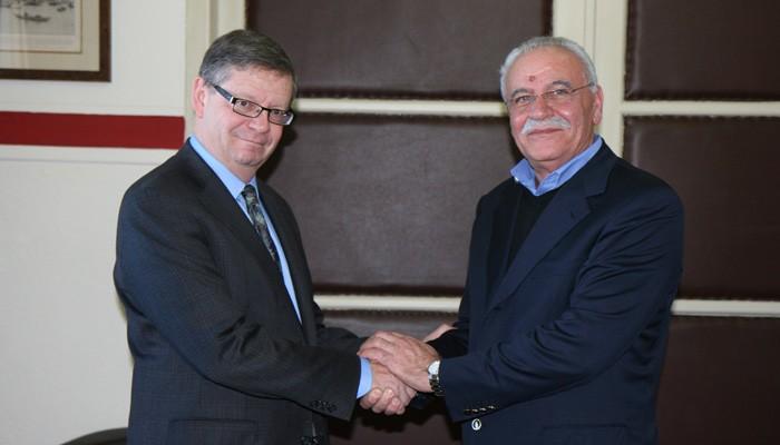 Στα Χανιά ο Πρέσβης του Καναδά στην Ελλάδα