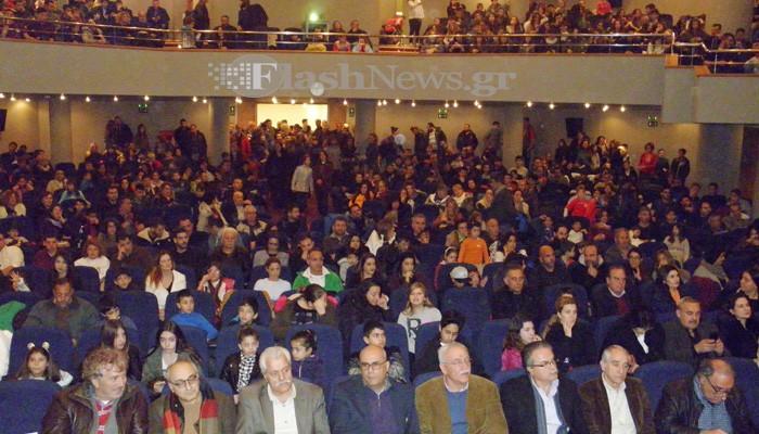 Πλήθος κόσμου στις βραβεύσεις του Αθλητικού Ομίλου Κύδων (φωτο)