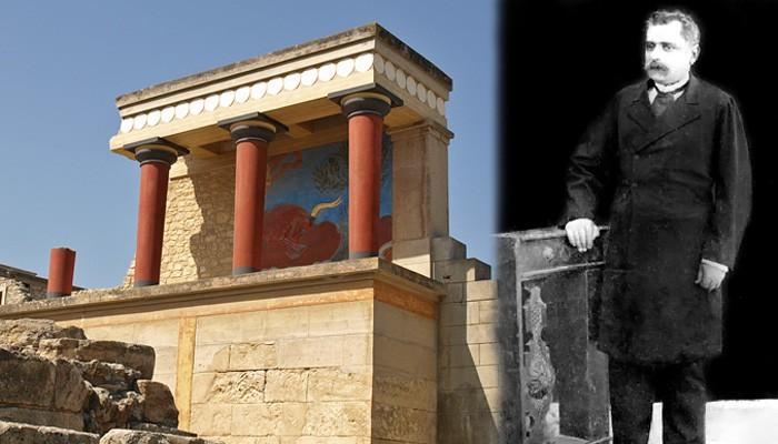 Την Κνωσό ανακάλυψε πρώτος ο Ηρακλειώτης έμπορος Μίνωας Καλοκαιρινός