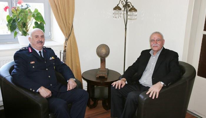 Η πρώτη επίσκεψη του νέου Γενικού Αστυνομικού Διευθυντή Κρήτης
