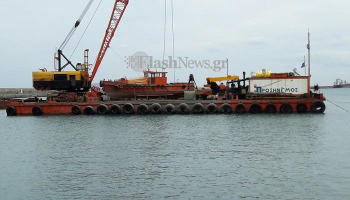 Ξεκίνησαν οι εργασίες εκβάθυνσης στο λιμάνι