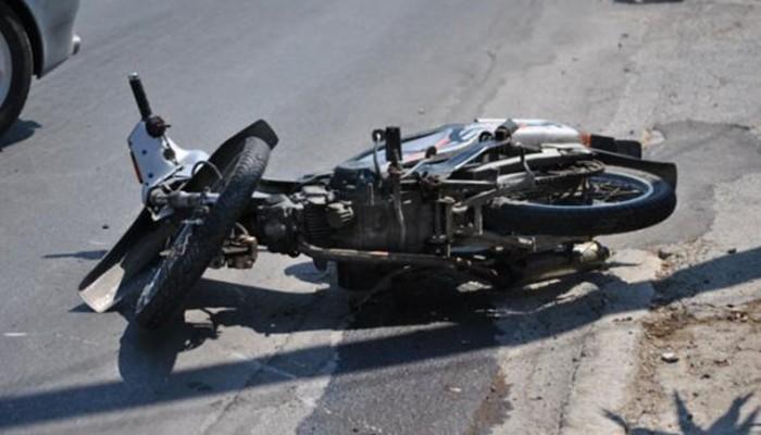 Τροχαίο ατύχημα με δίκυκλο στις Βουκολιές