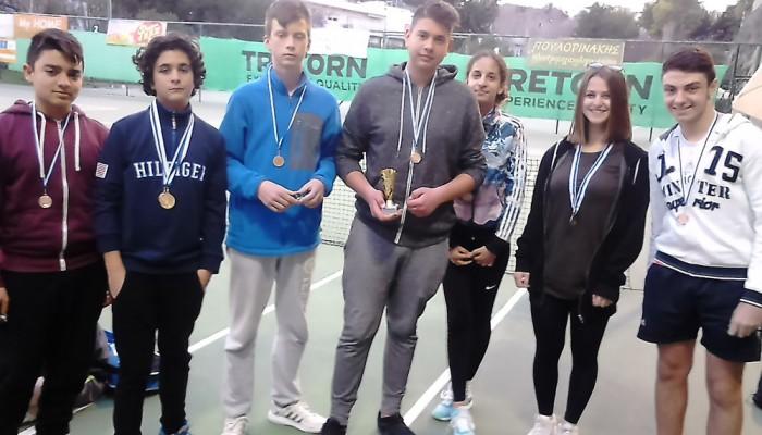 Τένις: 8 μικροί τενίστες του ΟΑΧ στη 2η Γιορτή Ακαδημιών