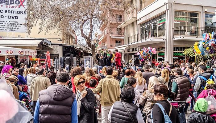 Πλήθος κόσμου στην εκδήλωση του Εμπορικού Συλλόγου Χανίων (φωτο)