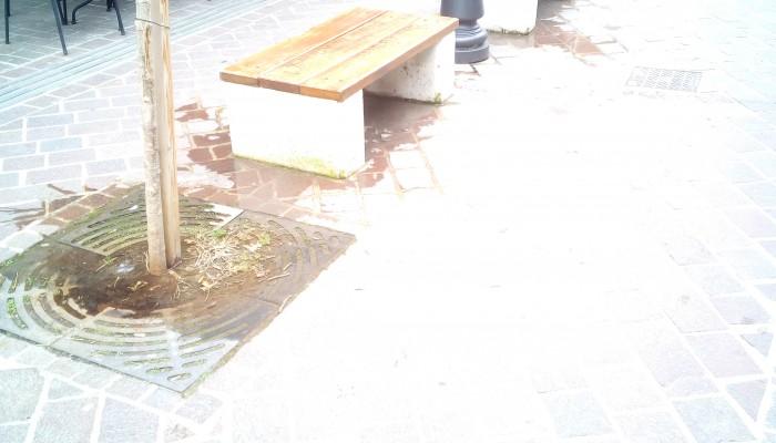 Υπάρχει βλάβη ή ο δήμος Χανίων ποτίζει δεντράκια χειμωνιάτικα;;;