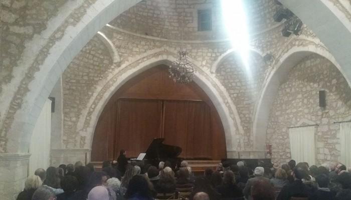 Ρεσιτάλ πιάνου απο ιερέα στο Ωδείο Ρεθύμνου