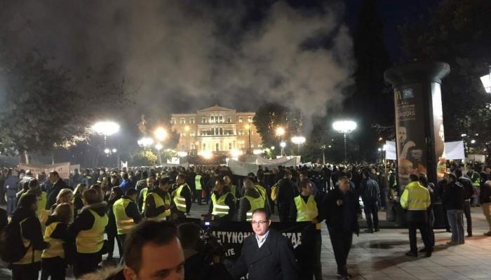 Δυναμική η συμμετοχή της Κρήτης στο συλλαλητήριο των Σωμάτων Ασφαλείας
