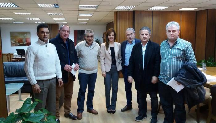 Συναντηθηκε η Υπ Εργασίας με τον Σ. Βαρδάκη, το Σωματείο Ερμής και την ΟΣΜΕ