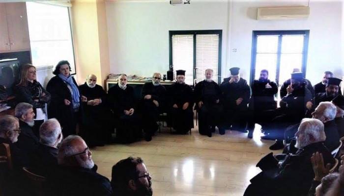 Εκπαιδευτικό σεμινάριο στους ιερείς της Ιεράς Αρχιεπισκοπής Κρήτης