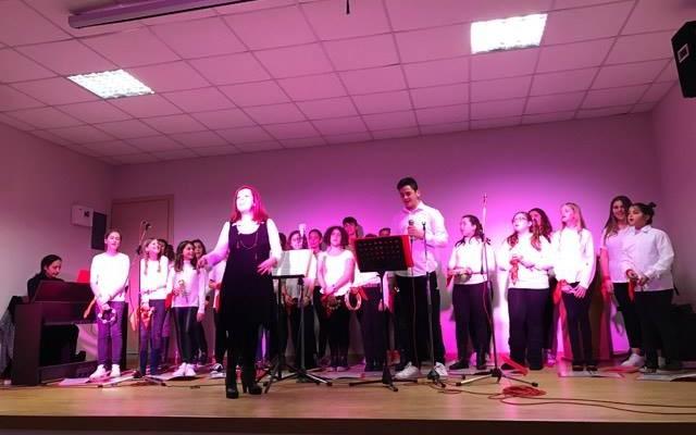 Τραγούδησαν στα παιδιά του Παραρτήματος Προστασίας Παιδιού Λασιθίου